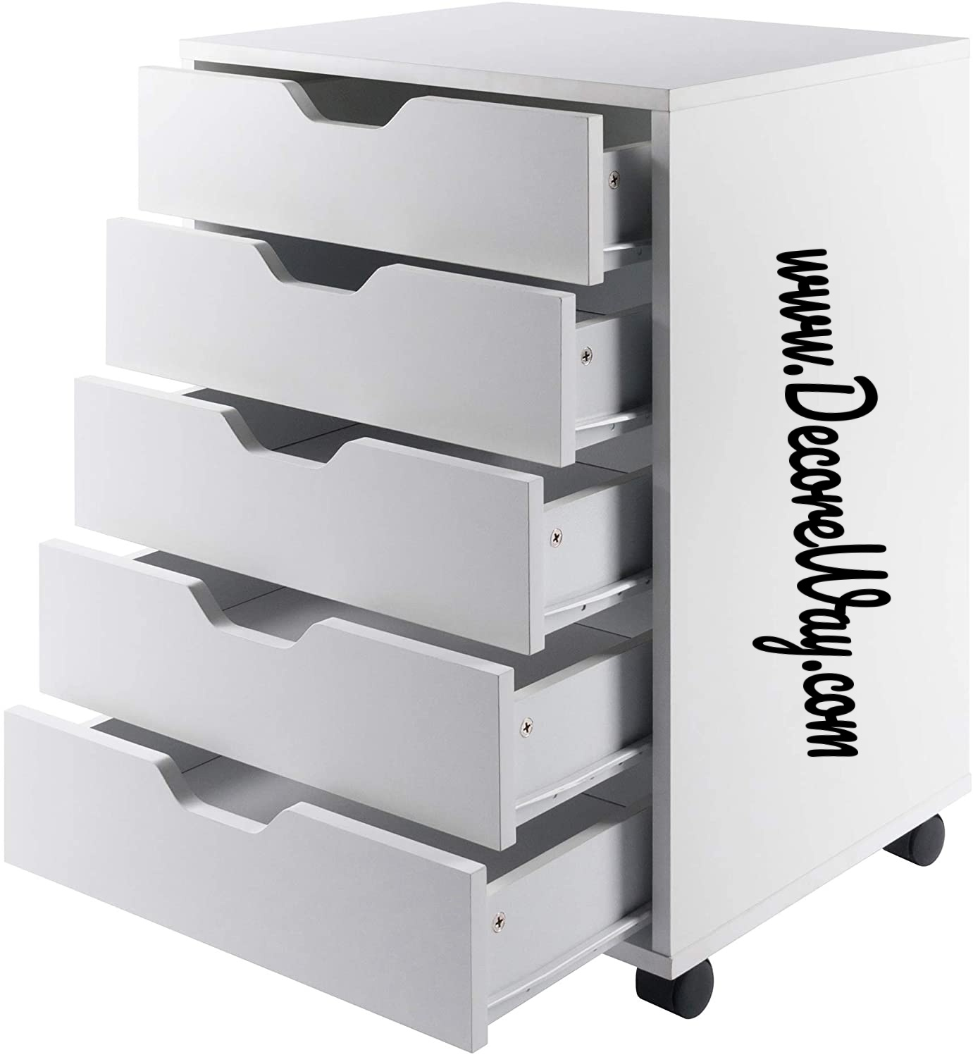 5 Drawer Office Cabinet
