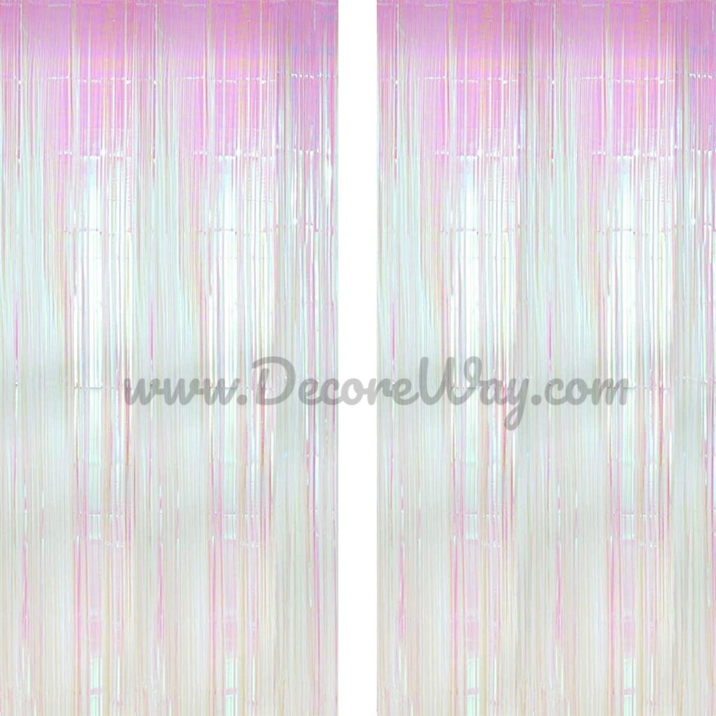 Environmental Background for New Year Christmas Decorations