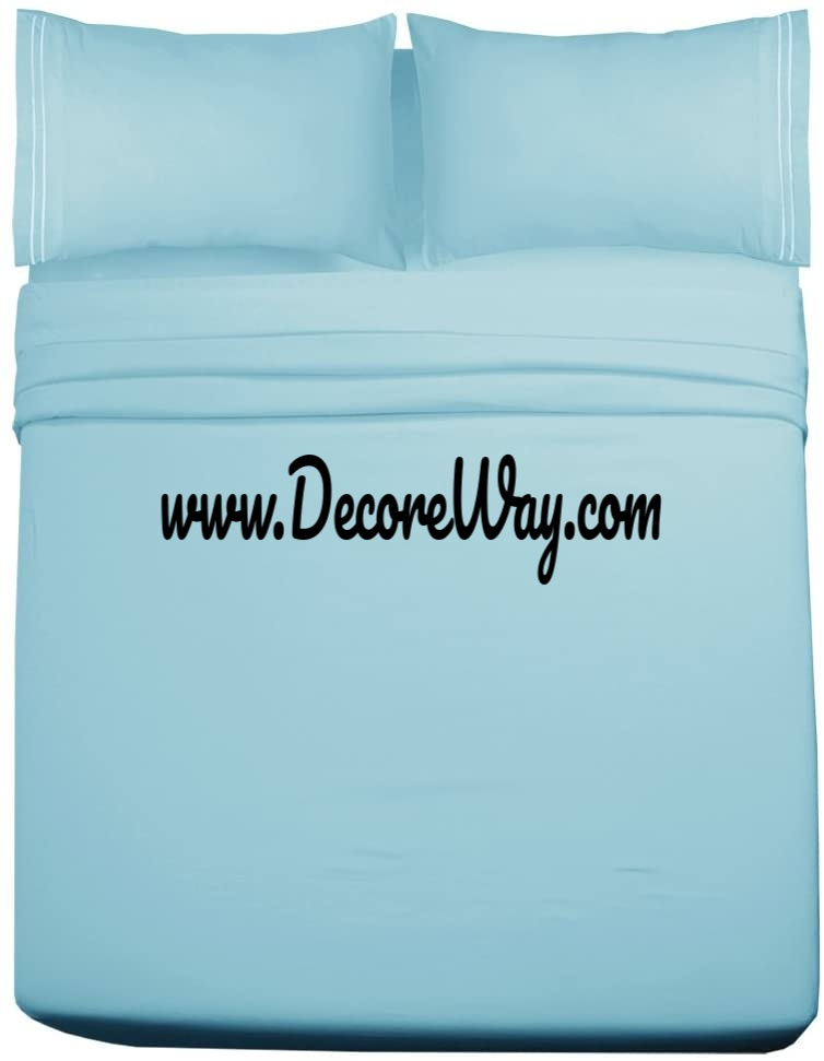 Extra Soft Full Size Sheet Set with 15 inch Deep Pocket 4 Piece
