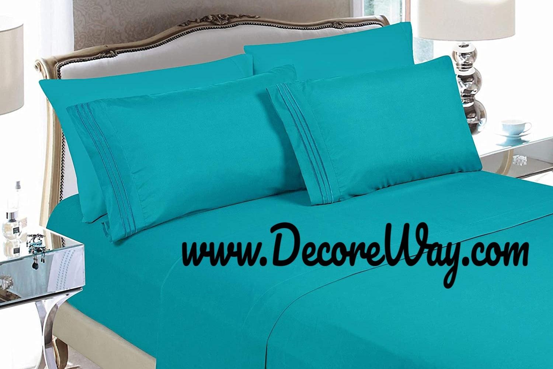 Luxury 4 Piece Bed Sheet Set