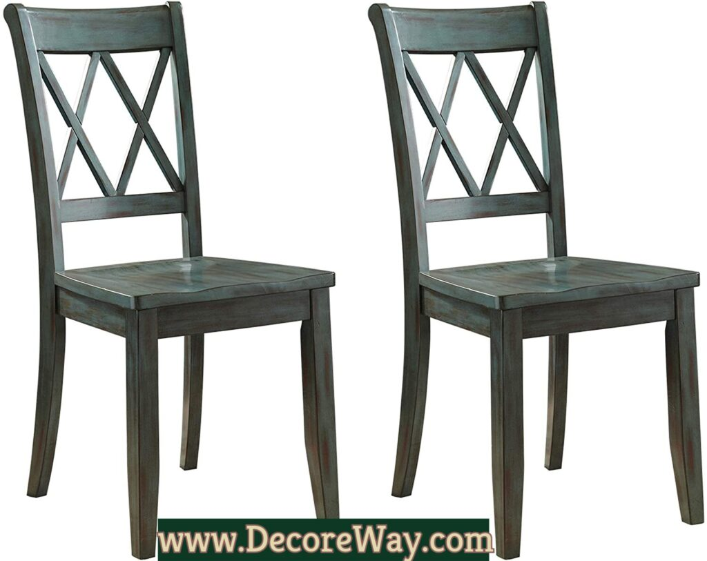 Mestler Dining Room Side Chair Wood Seat