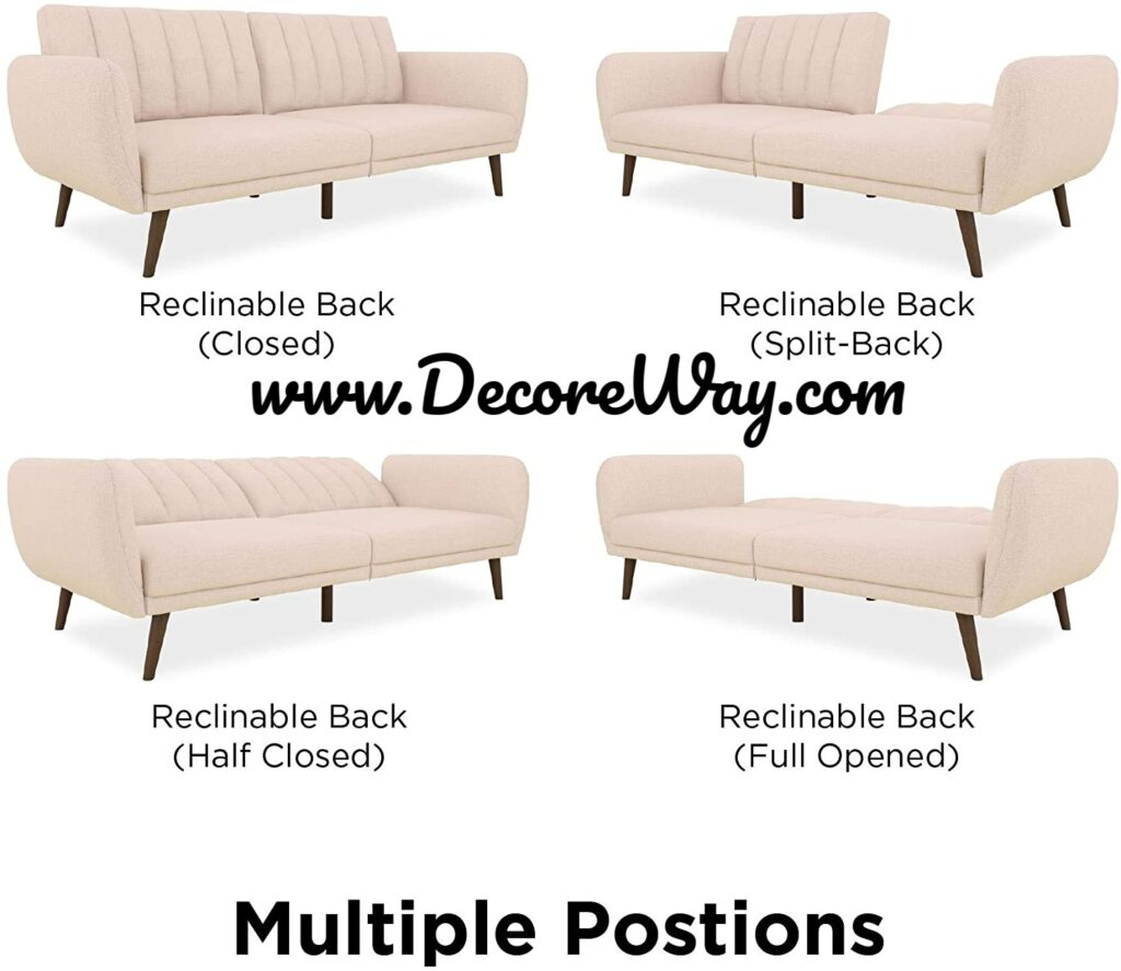 Premium Upholstery and Wooden Legs Sofa