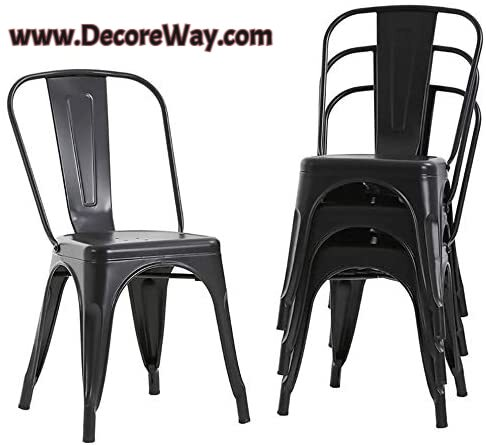 Tolix Restaurant Chairs Trattoria Bar Stackable Chairs