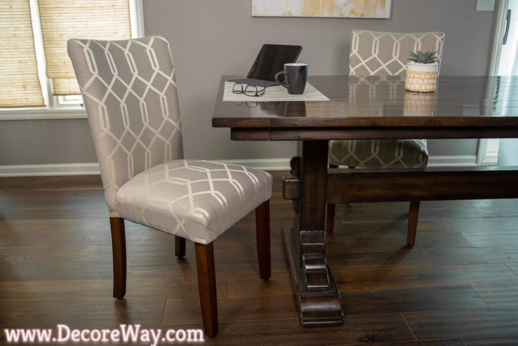 Upholstered Accent Dining Chair Set of 2