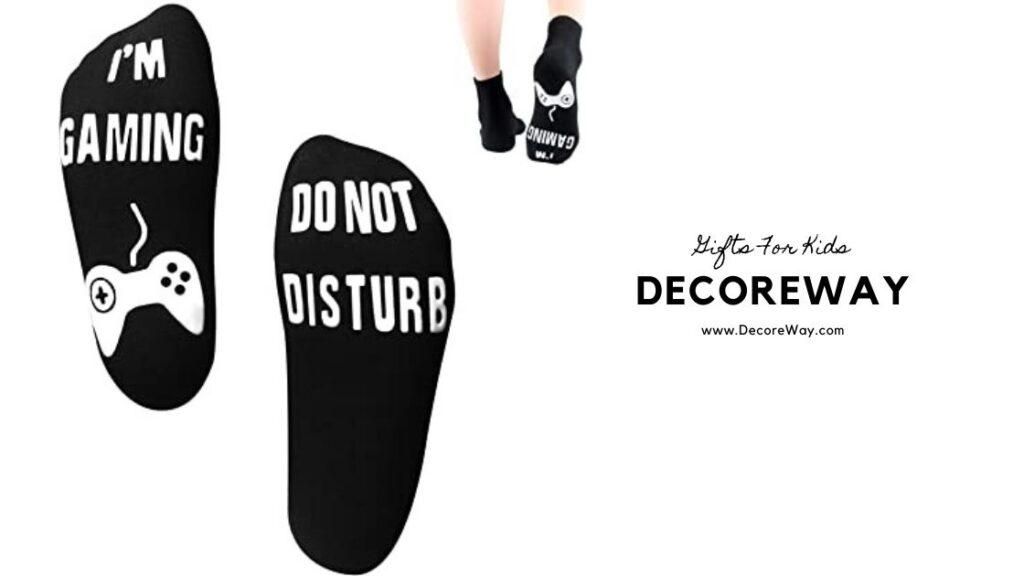 Do Not Disturb I'm Gaming Socks