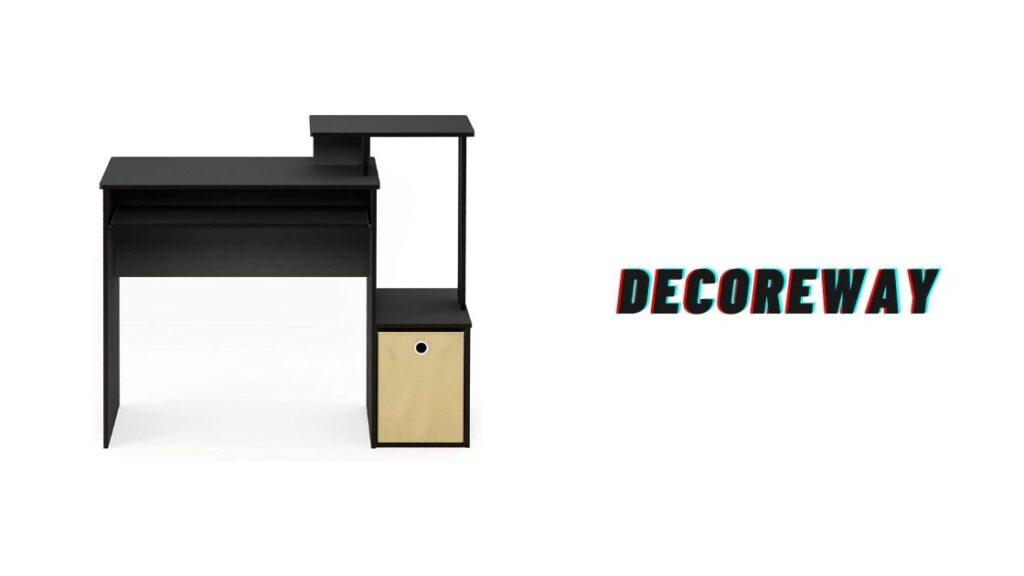 Home Office Desk Black