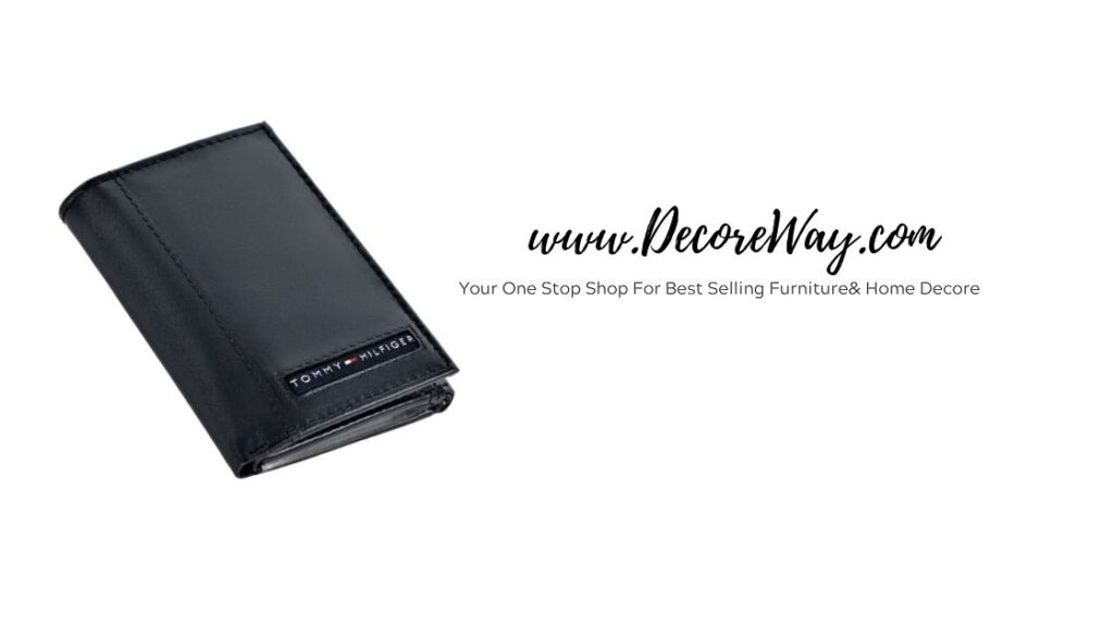 Leather Trifold Wallet For Him