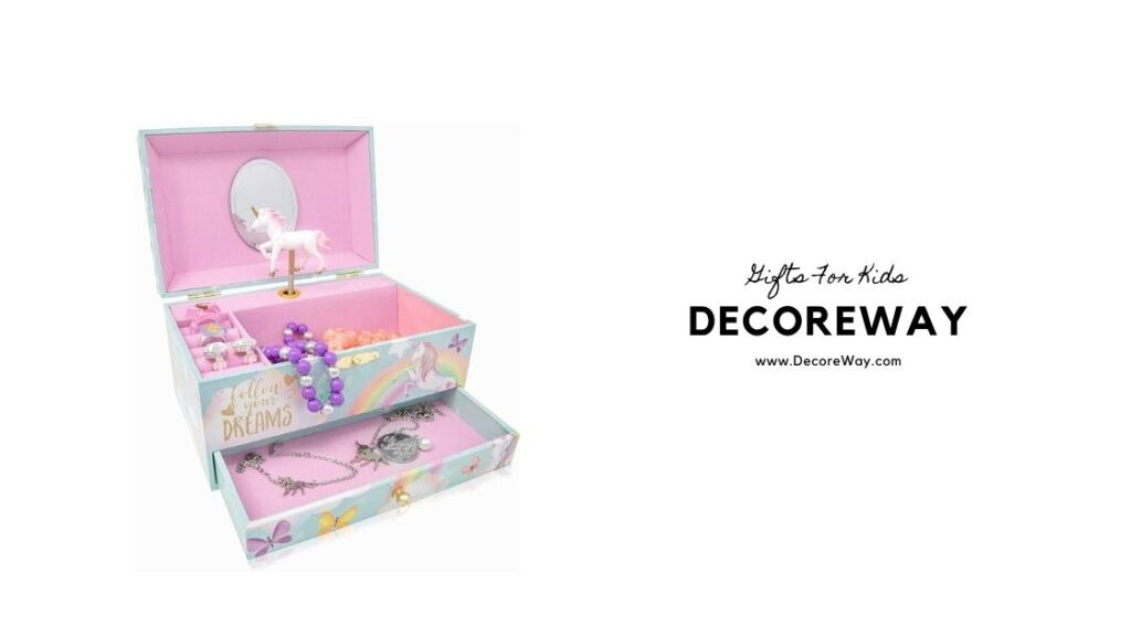 Personalized Jewelry Box For Little Girl