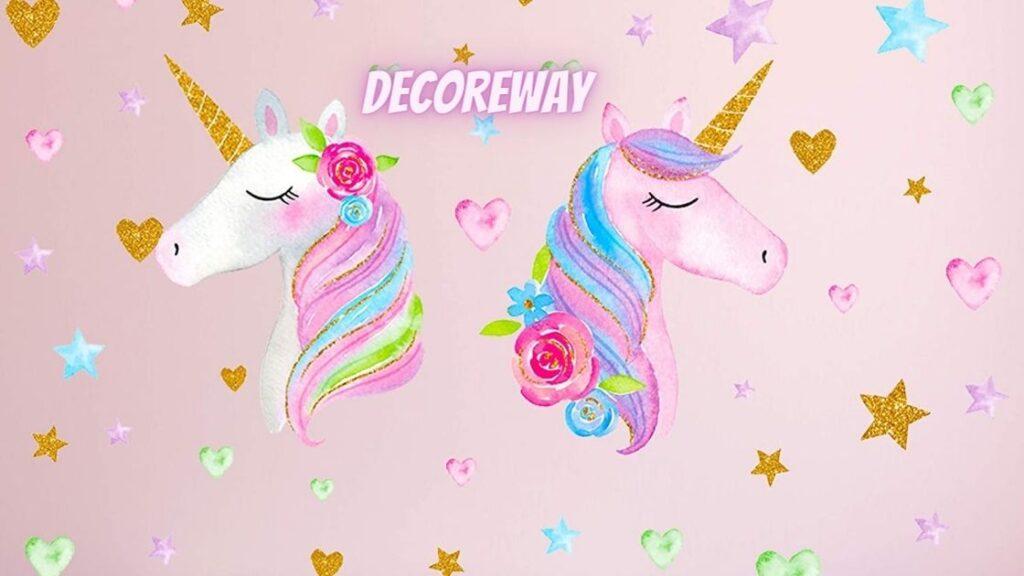 Unicorn Wall Decals Stickers