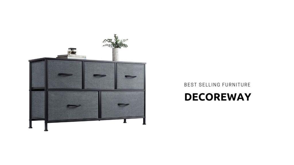 Black Dresser With Deep Drawers