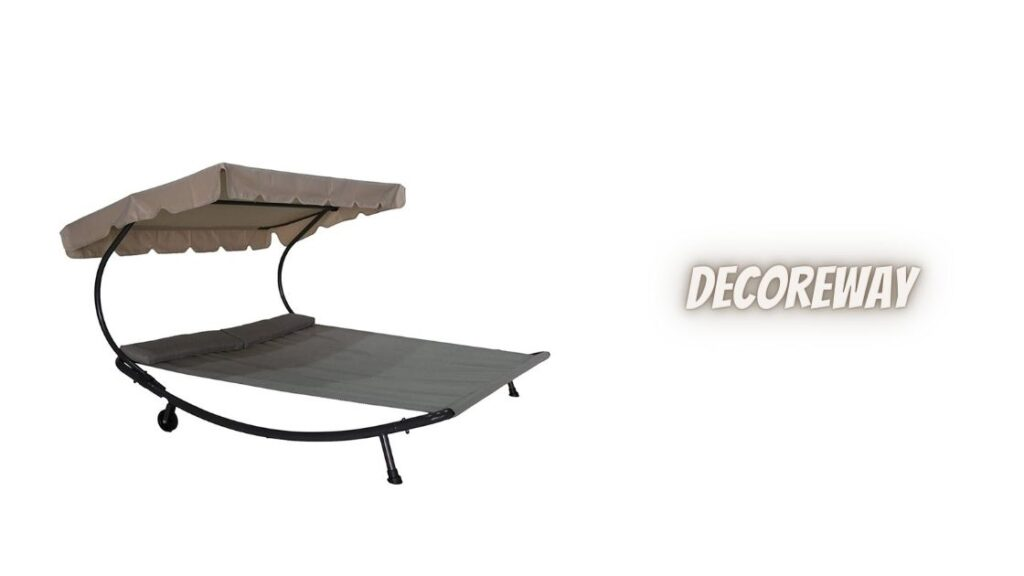 Double Hammock With Stand And Canopy