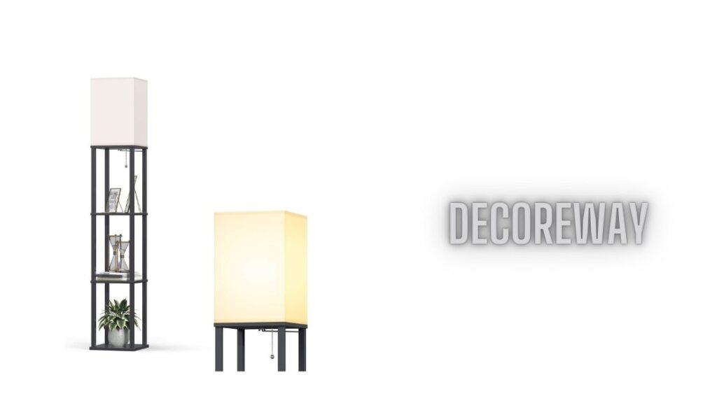 Best Floor Lamp With Shelves