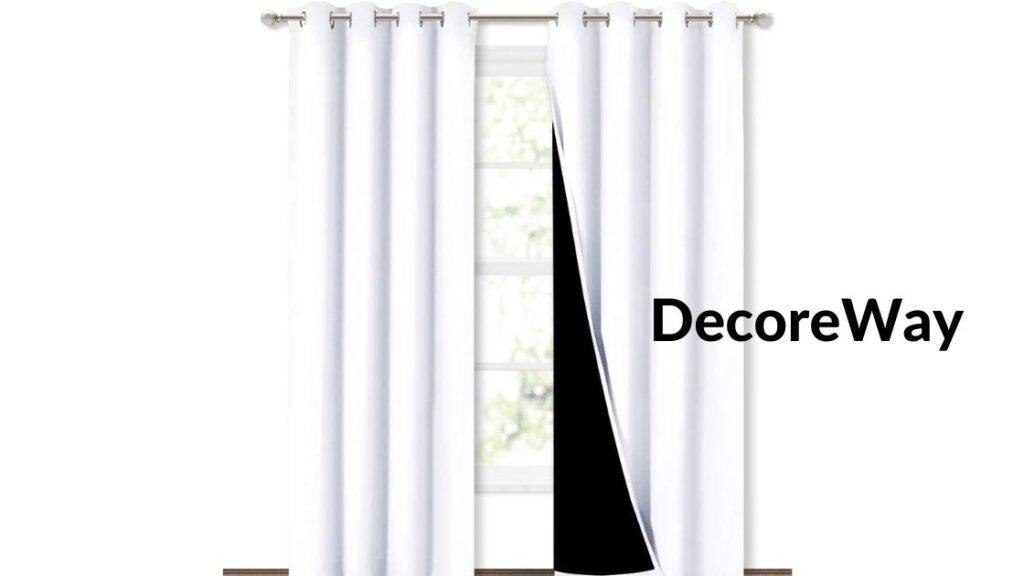 Cheap Blackout Curtains 2 Panels