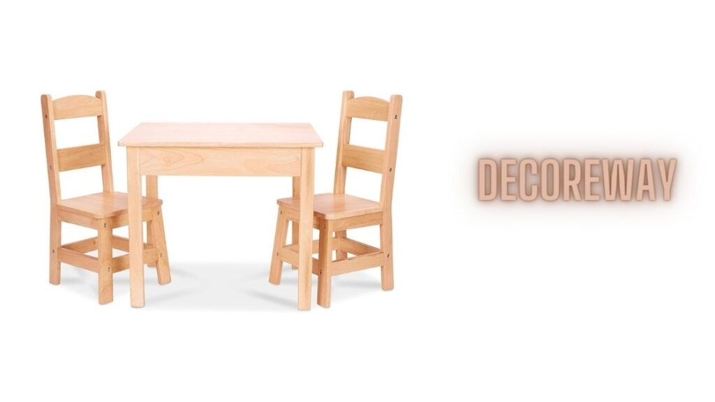Doug Tables And Chairs 3 Piece Set