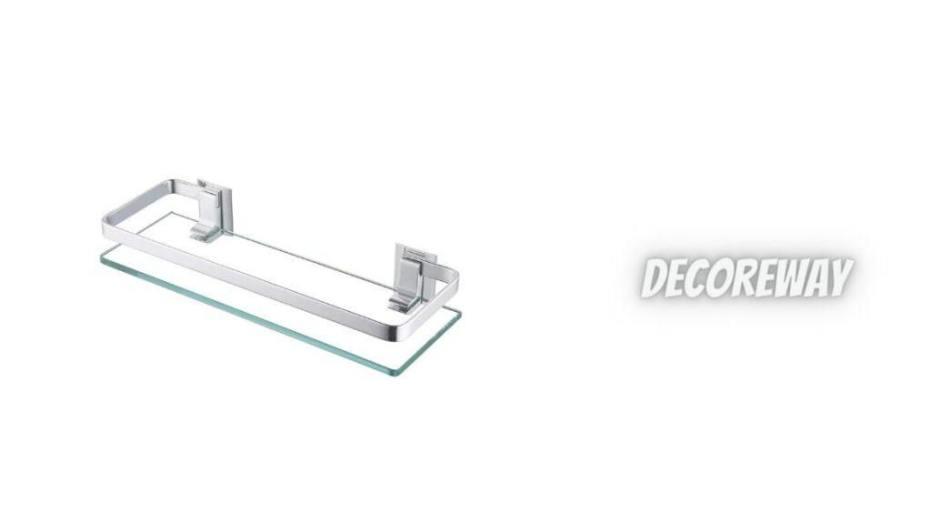 Floating Glass Shelves For Bathroom