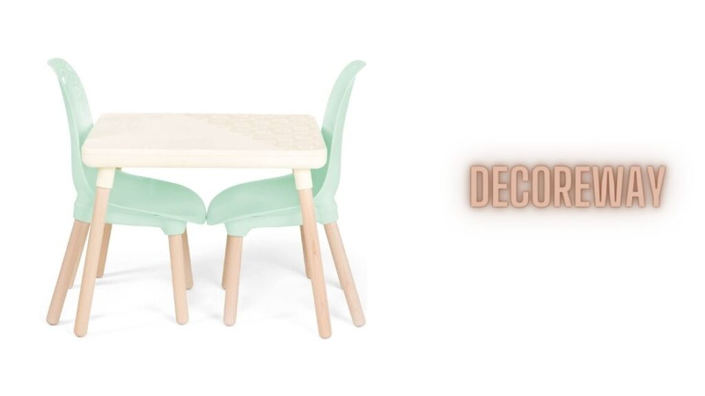 Kids Chairs With Natural Wooden Legs