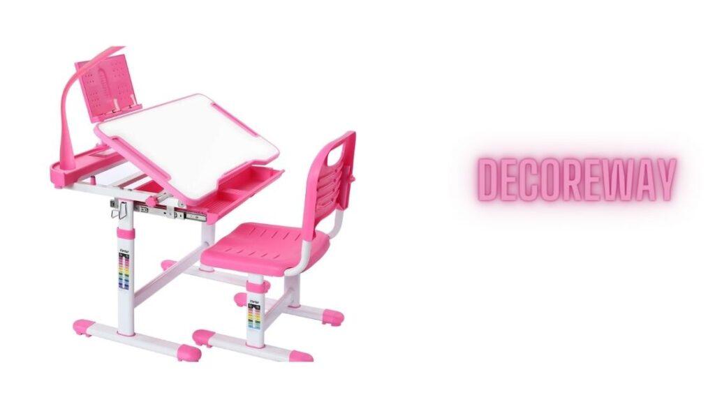 Kids Study Desk And Chair Set