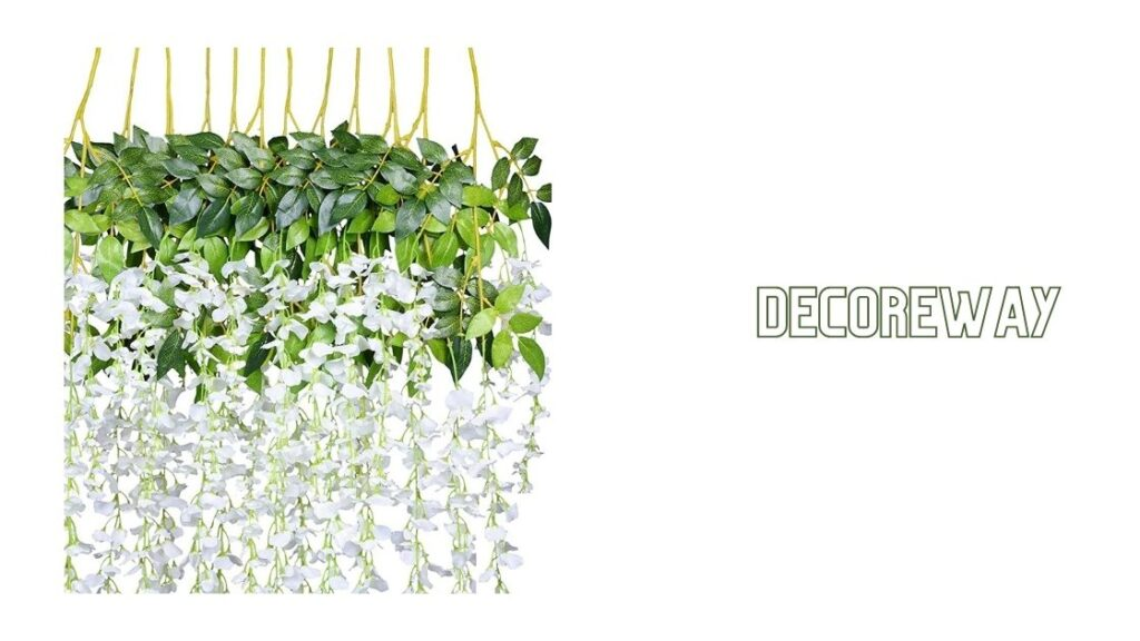 Large Artificial Flower Hanging Baskets