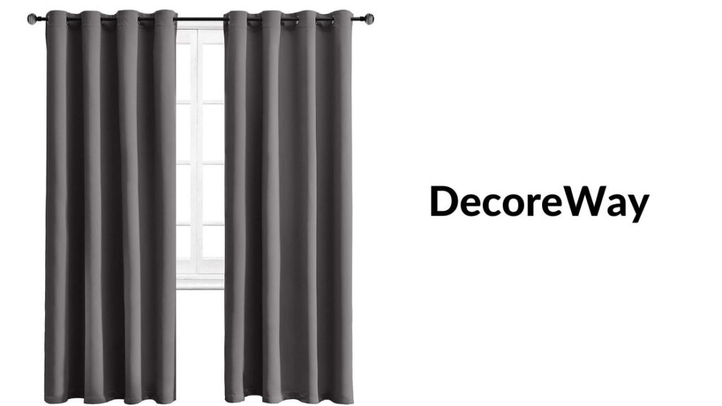 Light Gray Grommet Blackout Curtains