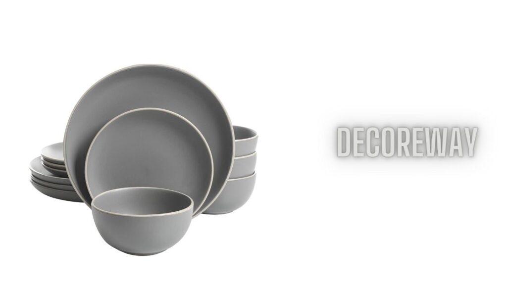 Matte Stoneware Dinnerware Sets