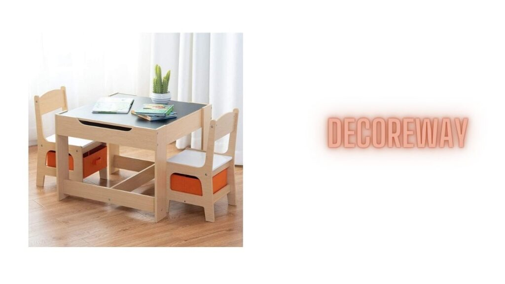 Playroom Table And Chairs With Storage