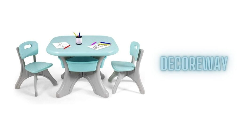 Table And Chair Set For 7 Year Old