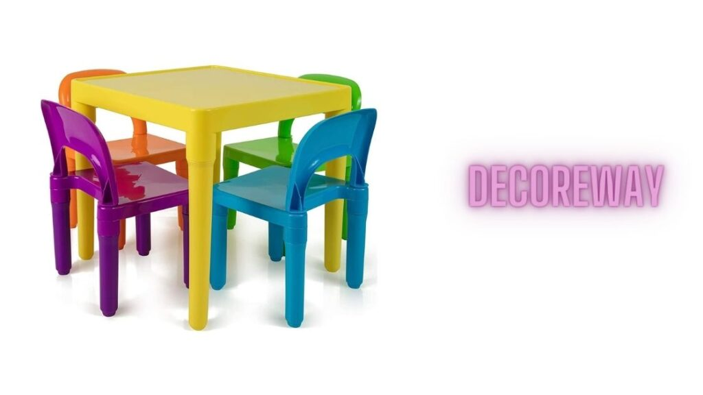 Table And Chairs For Playroom