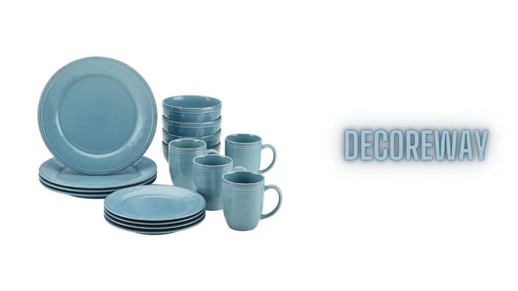 Teal Blue Dinnerware Sets