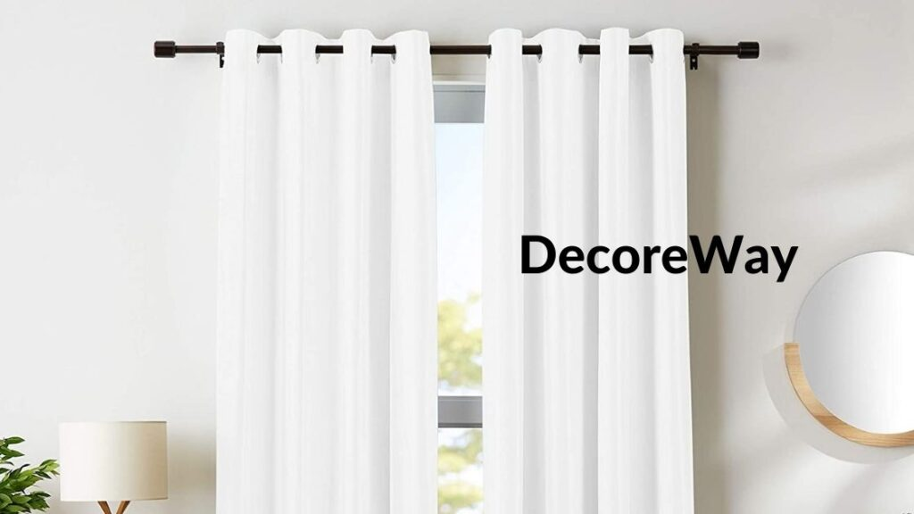 White Blackout Curtains 84 Inch