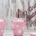 10 Unique Bathroom Accessories Sets