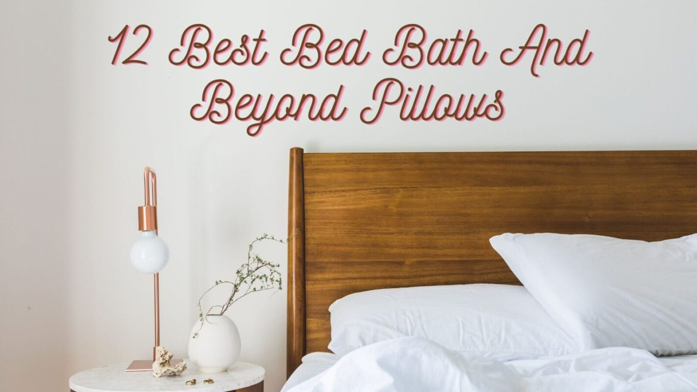 12 Best Bed Bath And Beyond Pillows