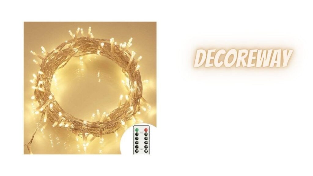 36ft Fairy Lights With Remote
