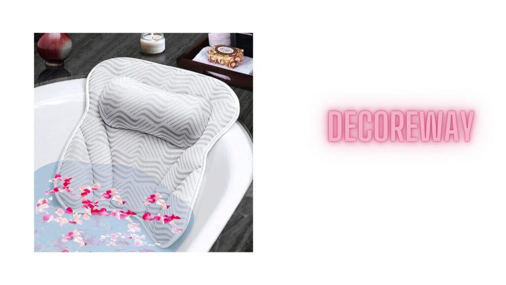 Bathtub Pillow With Neck Shoulder Back