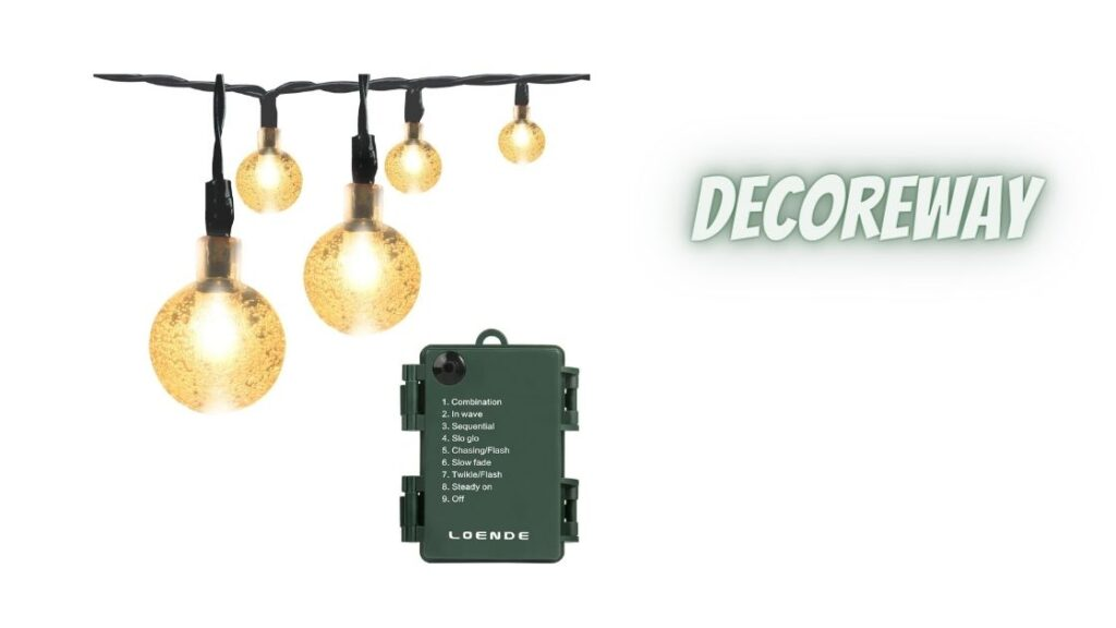 Battery Operated String Lights With Remote