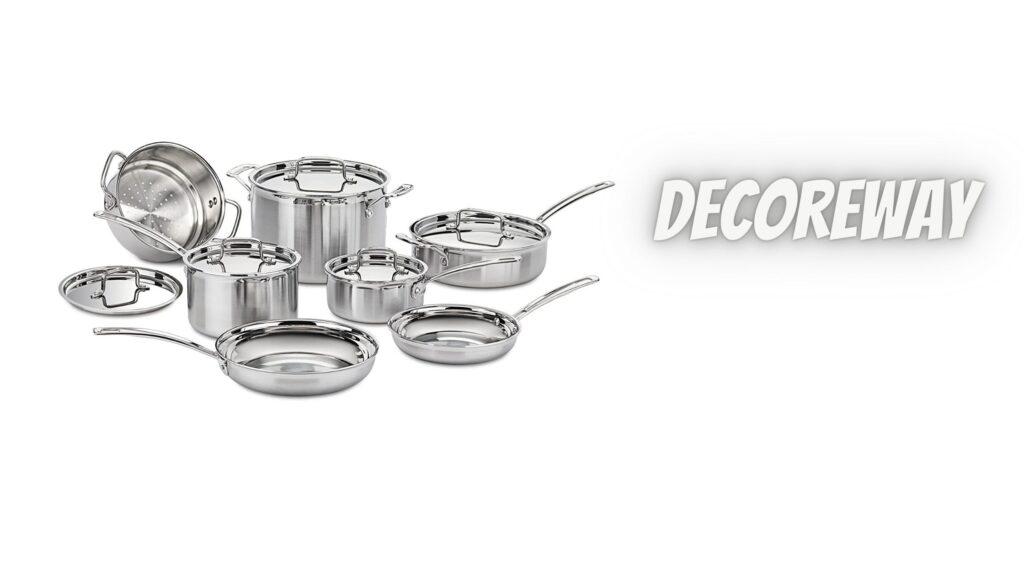 Best 12 Piece Stainless Steel Cookware Set