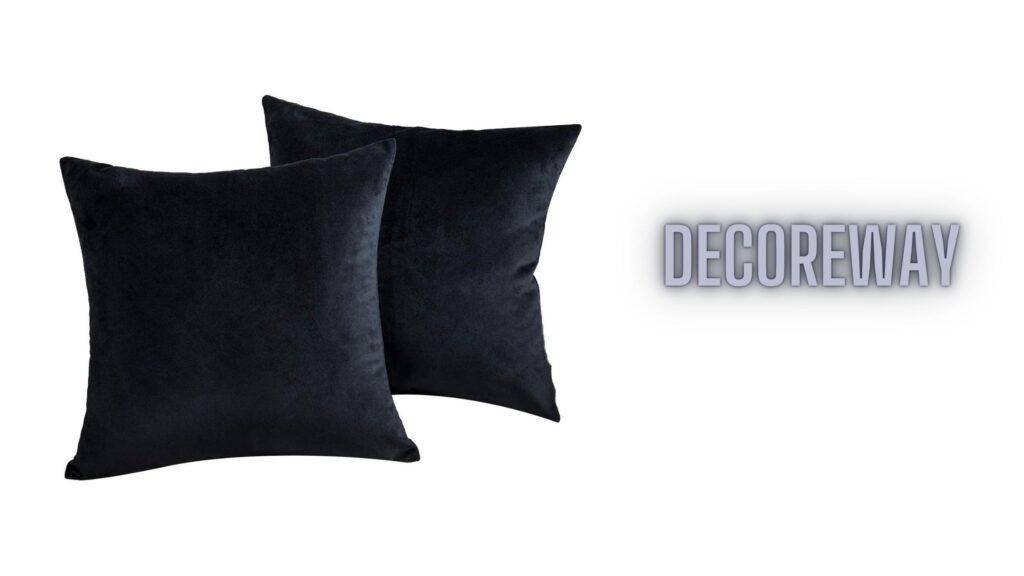 Best Black Throw Pillow Set