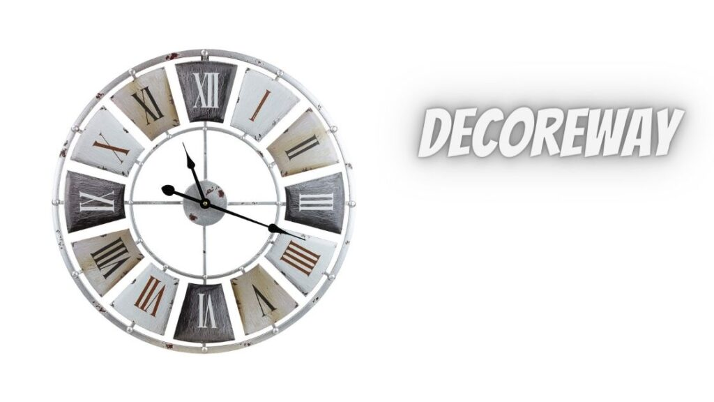 Best Wall Clock For Wooden Metal