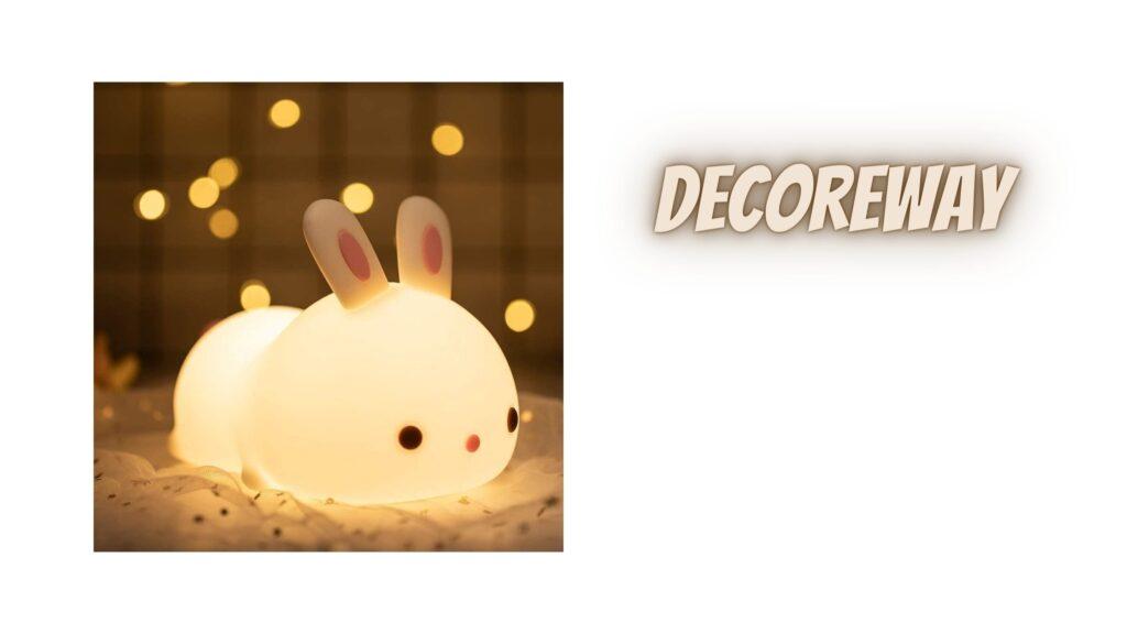 Cute Bunny Night Lights For Bedroom