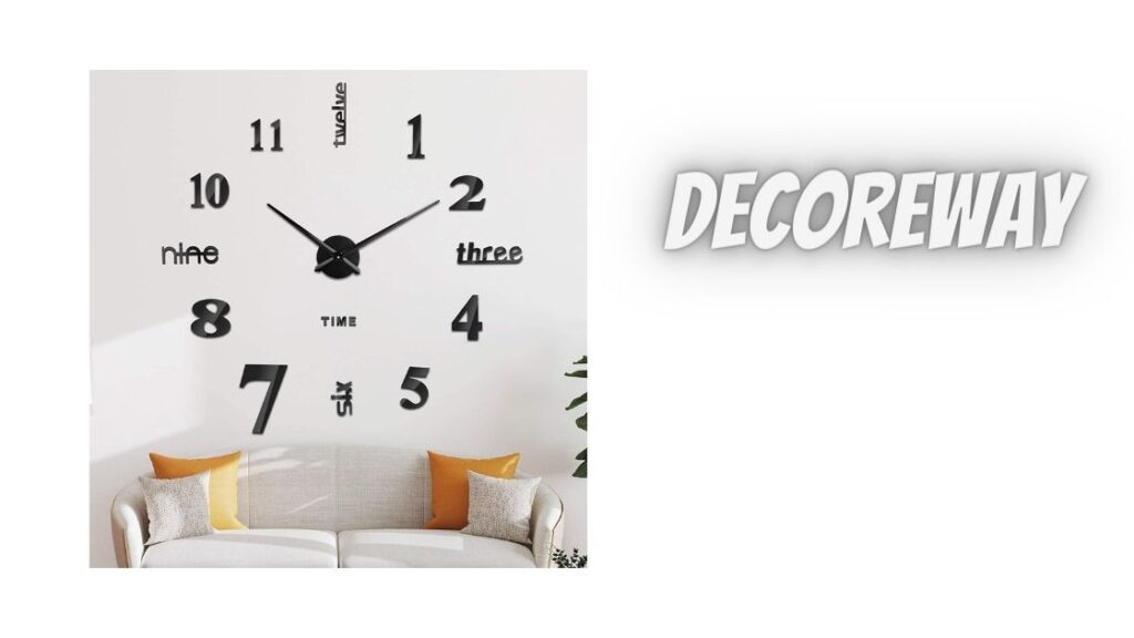 Extra Large Wall Clock For Bedroom