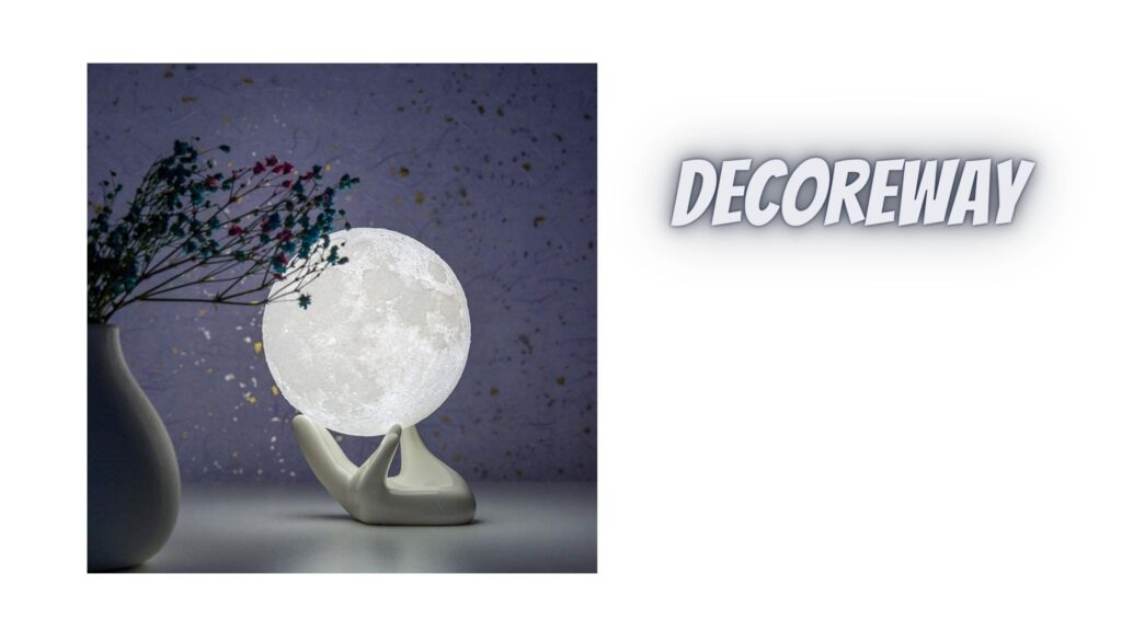 Lamp Night Light With White Hand Base