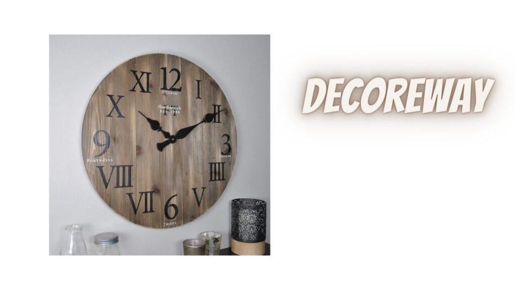 Large Barnwood Wall Clock