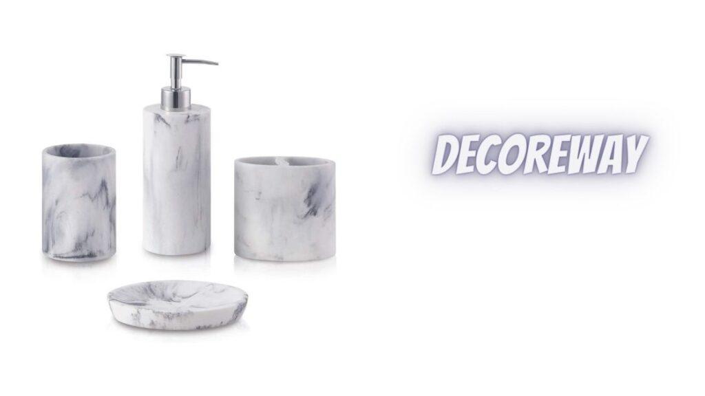 Set Of 4 Bathroom Vanity Accessories