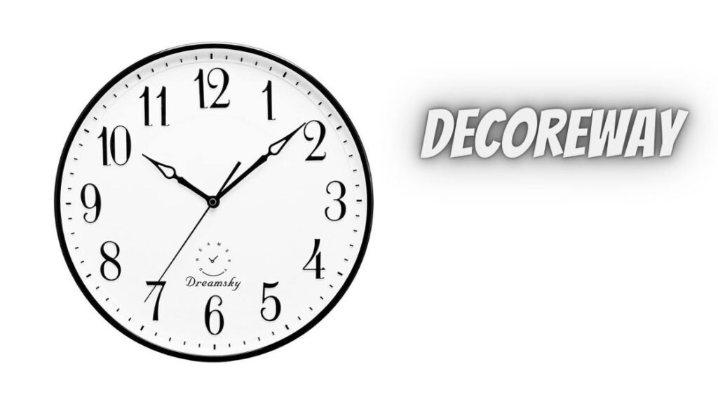 Wall Clock For Living Room