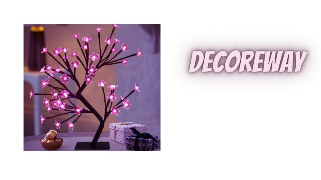 Battery Tree Lights With Timer