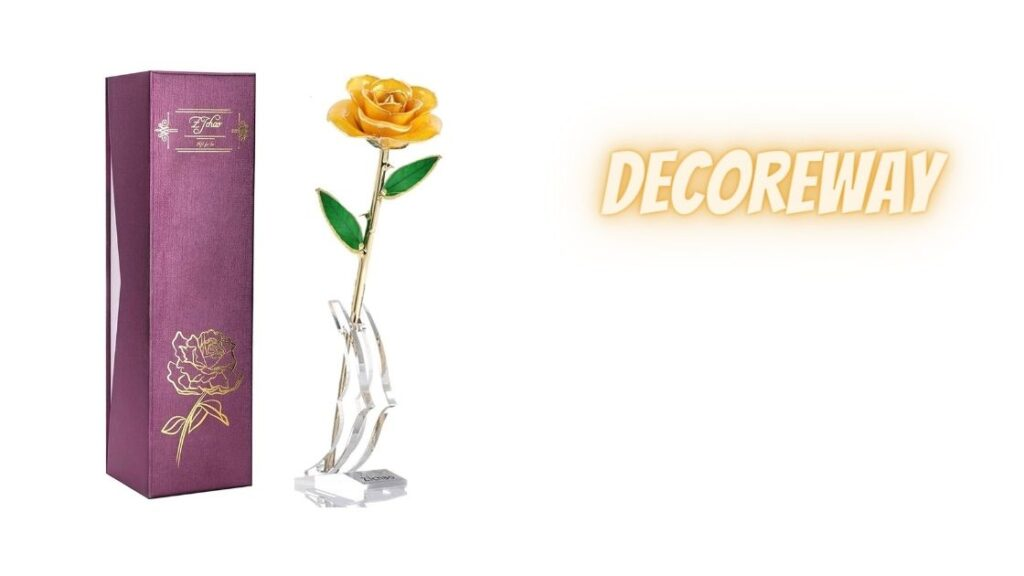 Best Yellow Gold Dipped Rose