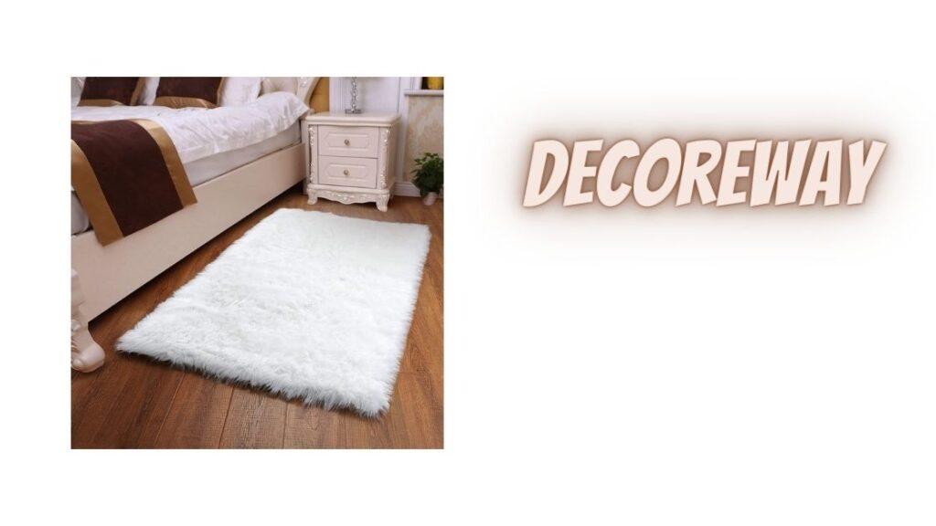 Cheap White Fluffy Rugs For Bedroom