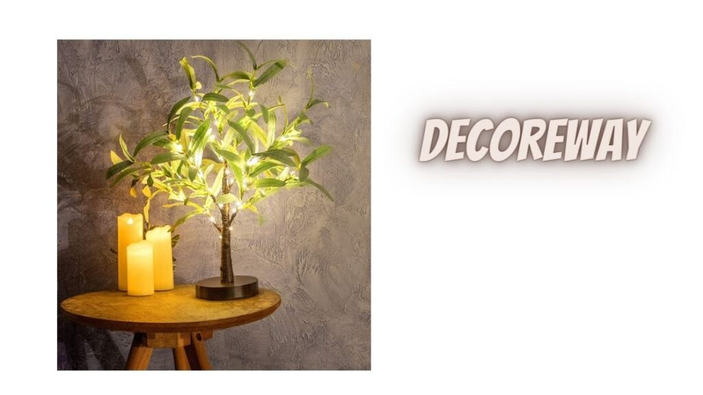 Decorative Lighted Trees For Indoors