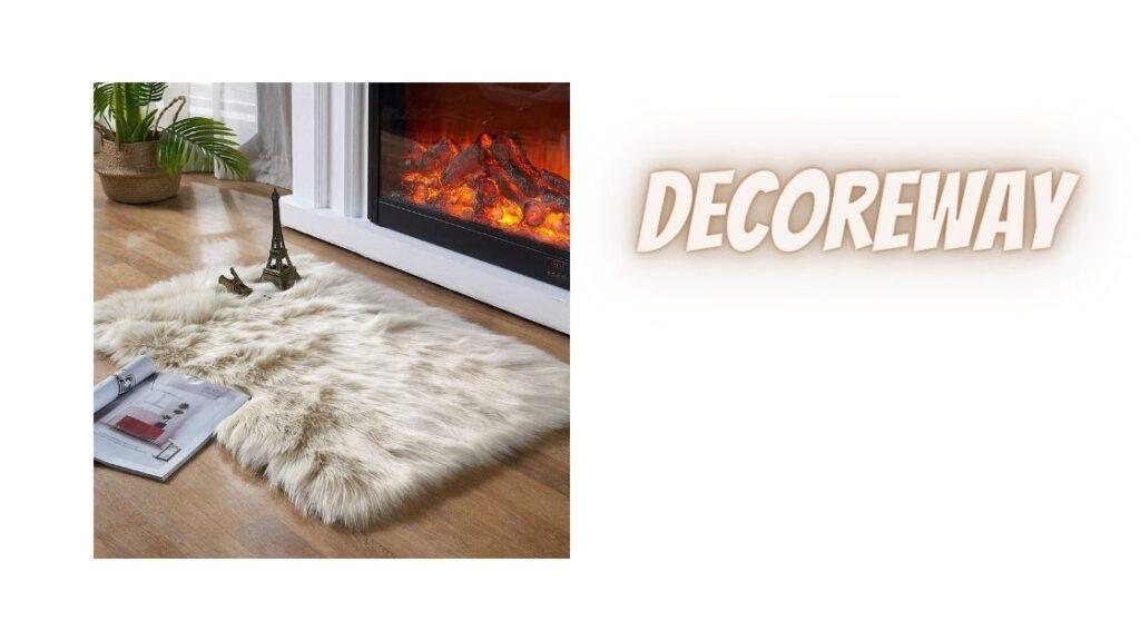 Fuzzy Area Rug for Bedroom Floor