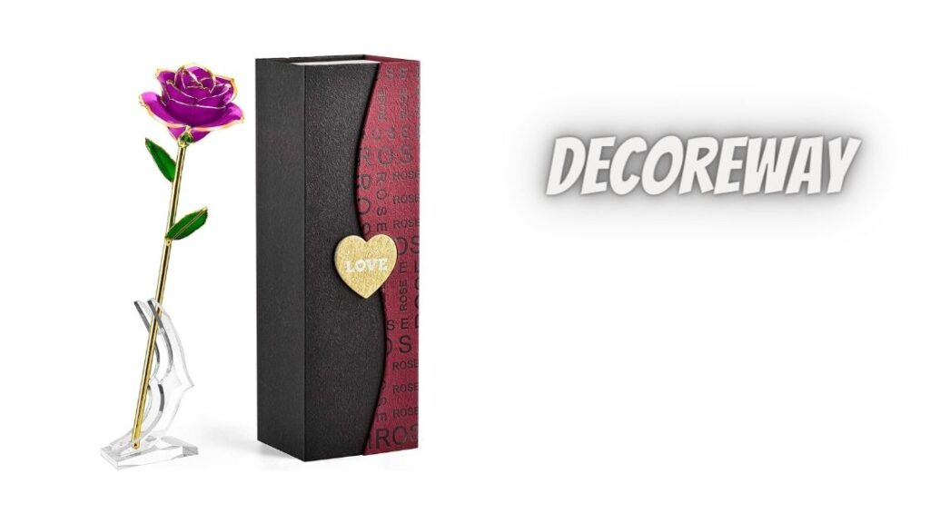 Purple Rose Flower Home Decoration