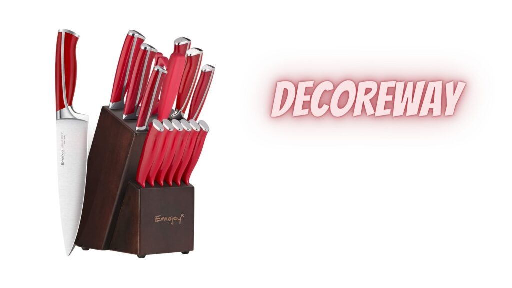 Red Handle For Chef Knife Set